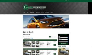 callanan autos drogheda website