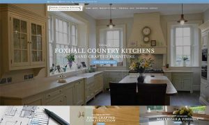Foxhall Country Kitchens Drogheda Web Design