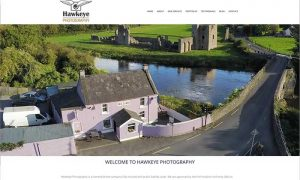 Hawkeye Photography Drogheda Web Design