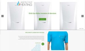 Jason fahy Heating Drogheda Web Design