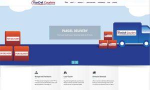 Vandel Couriers Drogheda Web Design